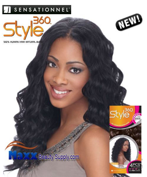 Sensationnel Style 360 Human Hair Blend Weave - Vogue